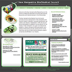 New Hampshire Bio/Medical Council home page