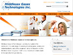 Web Site for Middlesex Gases & Technology Inc.